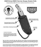 ESEE 5 Survival Knife - RC5 - A Great Survival Knife